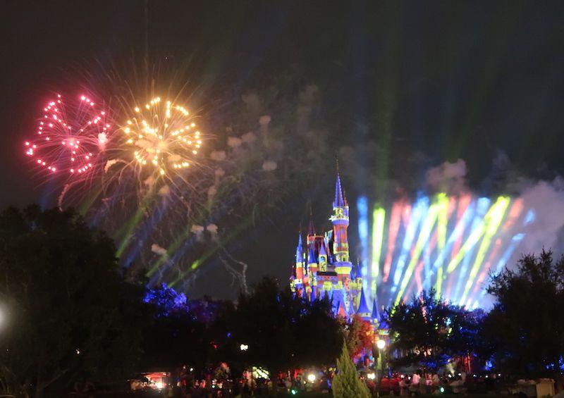 qué espectáculos ver con la entrada de Magic Kingdom