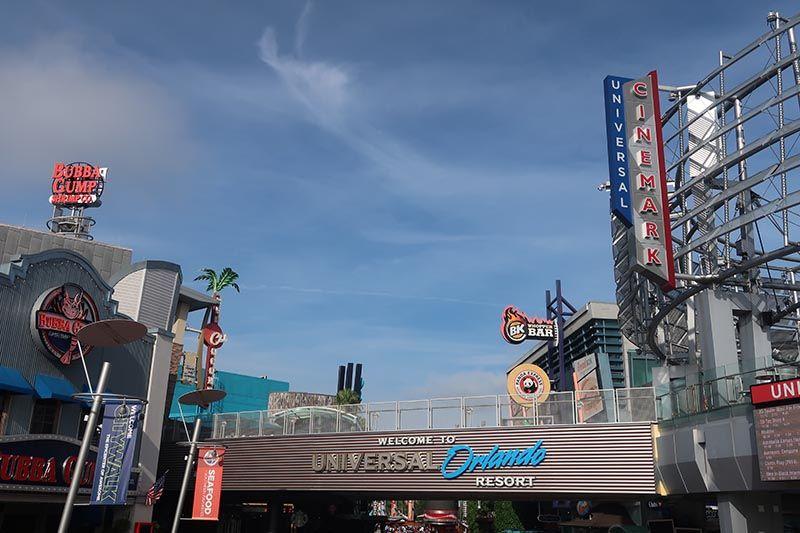 El parque de Universal en Orlando