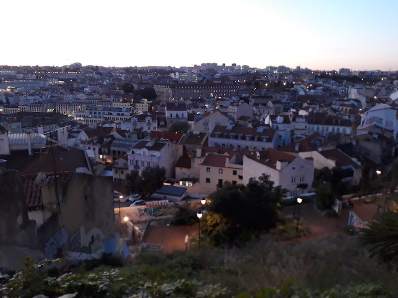 Lisboa al atardecer