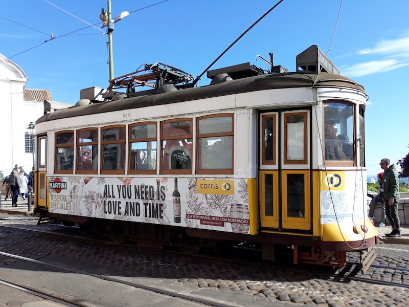 tranvías curiosos de Lisboa