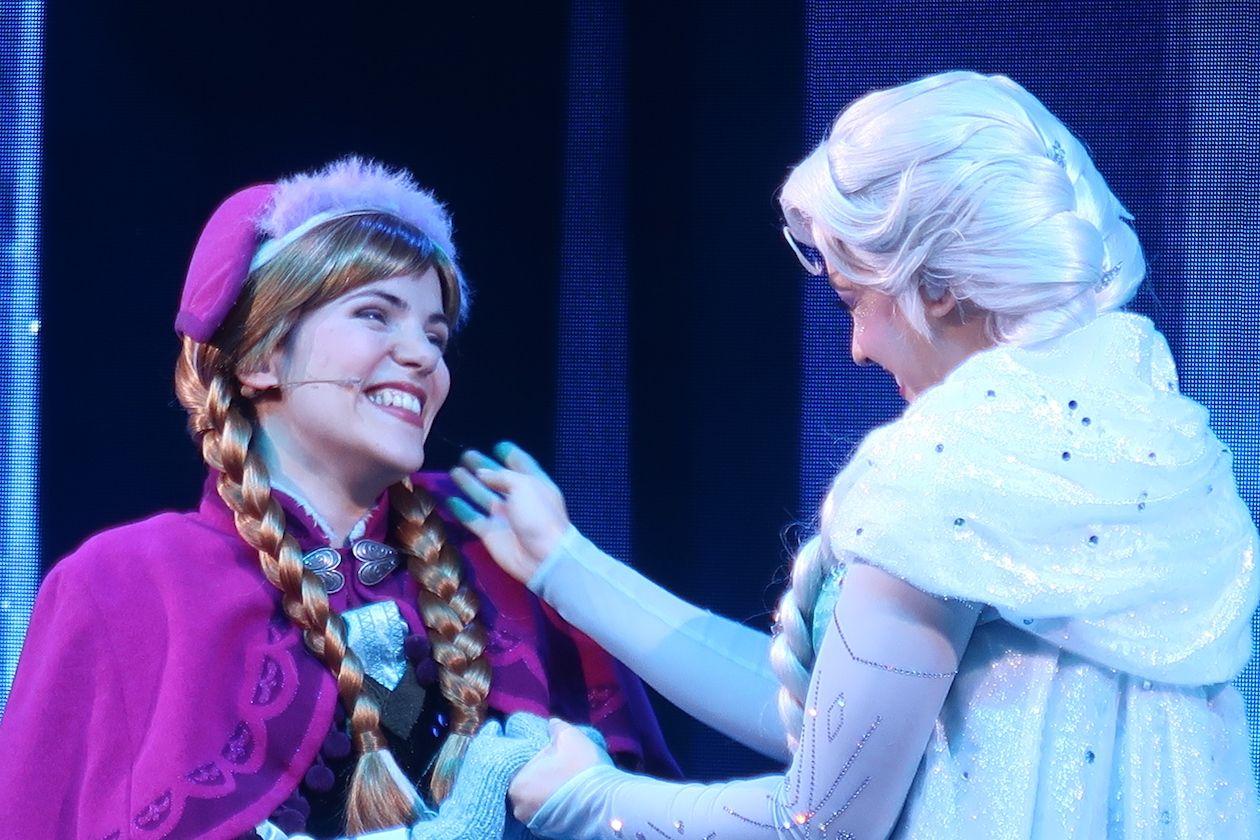 Frozen en Disneyland París