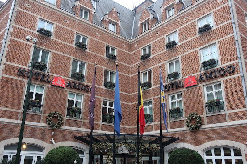 hoteles con leyendas Bruselas