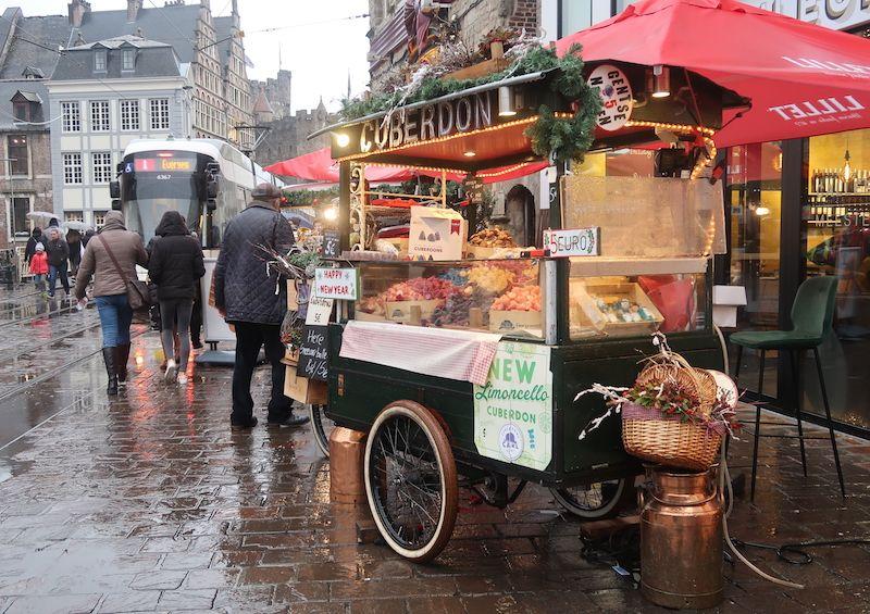 comida típica en Gante