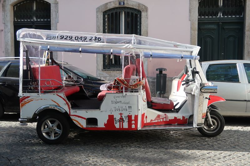 transporte alternativo en Lisboa