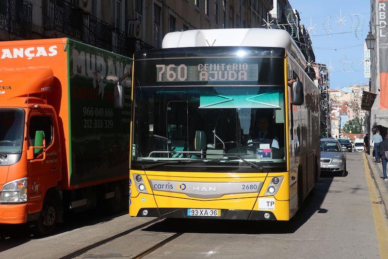 bus en Lisboa