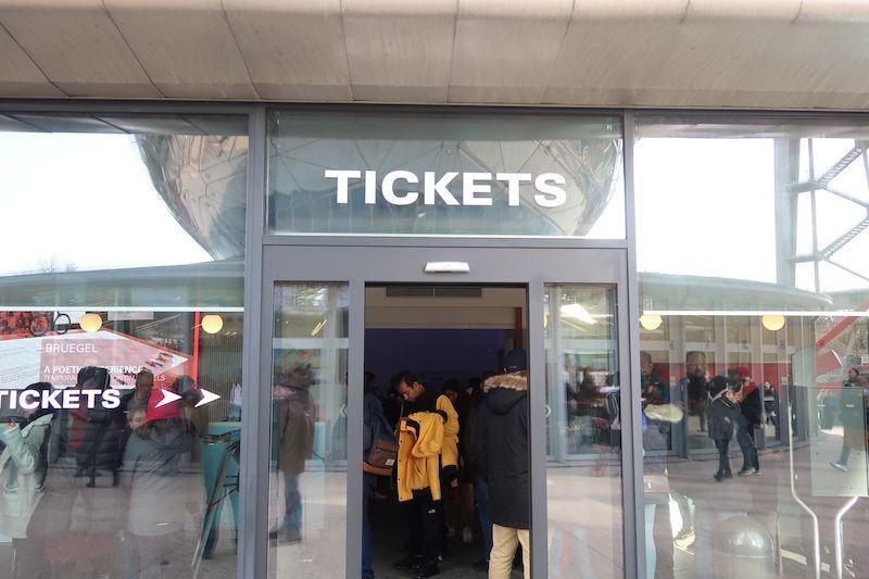 Tickets para el Atomium