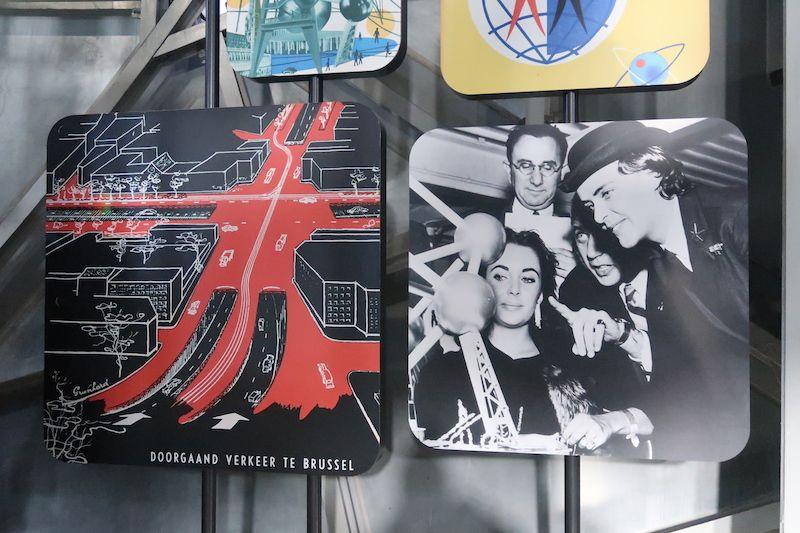 Exposiciones en el Atomium