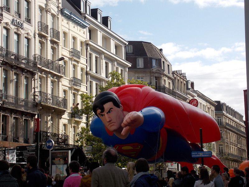 Desfile del festival del cómic