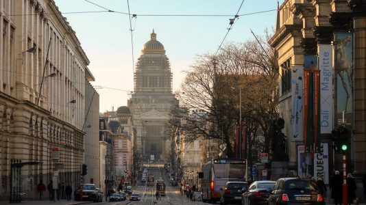 transporte Bruselas