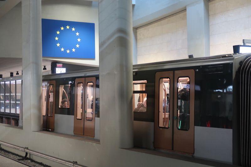 Líneas de metro en Bruselas