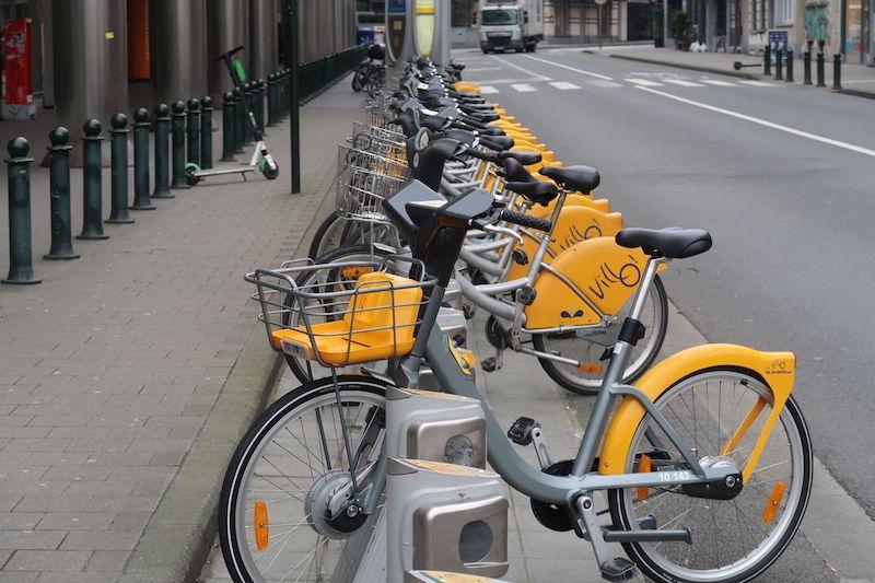 transporte alternativos en Bruselas