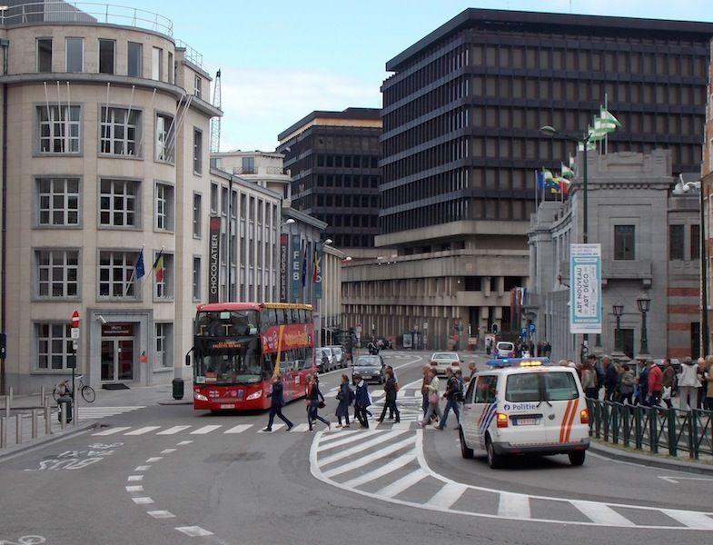cómo moverte por el centro de Bruselas