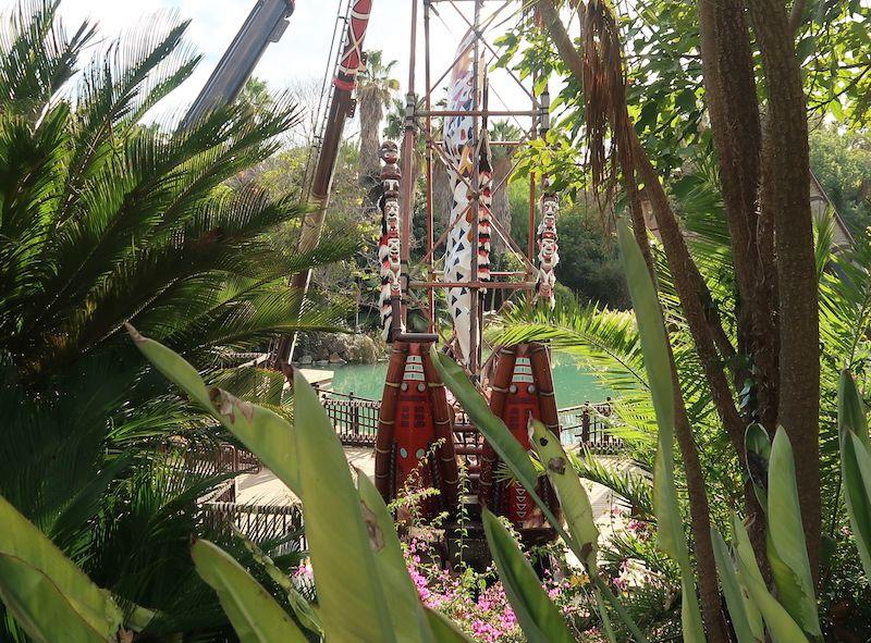 Cuántos parques hay en Port Aventura