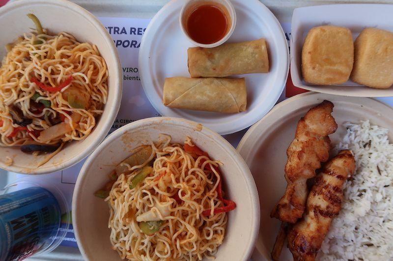 comida oriental en Port Aventura