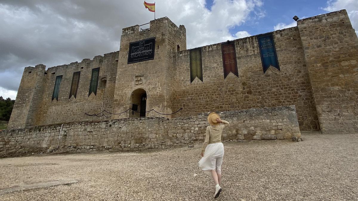 Visita al Castillo encantado de Trigueros del Valle